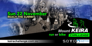 Mount Kira Challenge banner